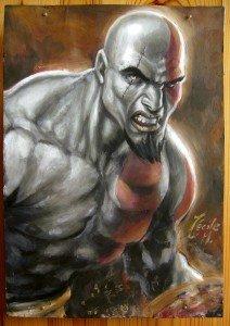 Peinture Kratos dans Paintings dscn2882-212x300