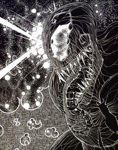Venom blanc sur noir dans Comics venom-236x300